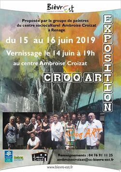 Vernissage exposition Croq'Art